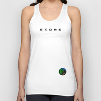 STONE Unisex Tank Top by SEVENTRAPS