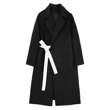 Long Silhouette Coat