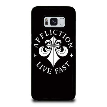 AFFLICTION Samsung Galaxy S3 S4 S5 S6 S7 Edge S8 Plus, Note 3 4 5 8 Case Cover