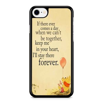 Winnie The Pooh Quote Iphone 8 Case