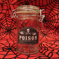Poison Glass Apothecary Jar