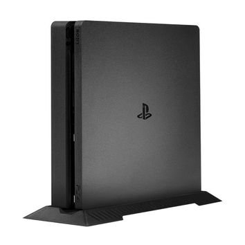 Keten PS4 Slim Vertical Stand for Playstation 4 Slim with Non-slip Feet for PlayStation 4 Slim Console Dualshock 4 Accessories