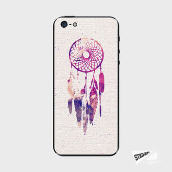 iPhone 5 / 5S iPhone 4 / 4S Galaxy S3 / S4 Nexus 5 Nokia Lumia Skin Cover Decal Sticker Dream Catcher