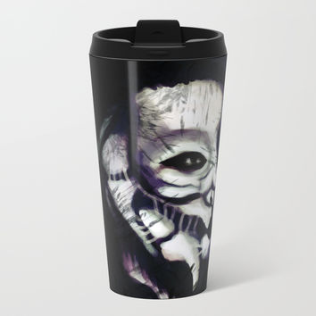 Prowler Metal Travel Mug by Moonlit Emporium