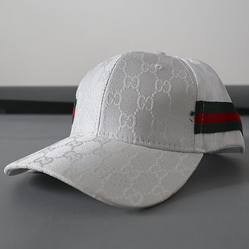 Gucci Fashion Print Woman Men Sport Baseball Hat Cap