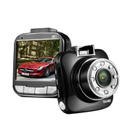 "car dvr Novatek 96650 G55 1080P DVR Car Recorder Camera Camcorder G-sensor WDR IR View 170 Angle Motion Detection 2.0"" 3.0MP CMOS"