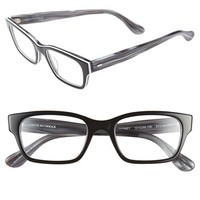 Women's Corinne McCormack 'Sydney' 51mm Reading Glasses - Black/ White