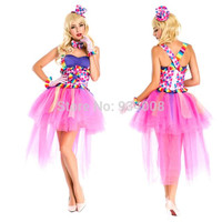 Adult halloween costume for women, sexy carnival costume, adult princess belle dress costume