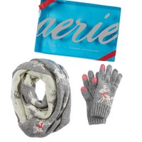 AERIE CIRCLE REINDEER COLDWEATHER GIFT SET