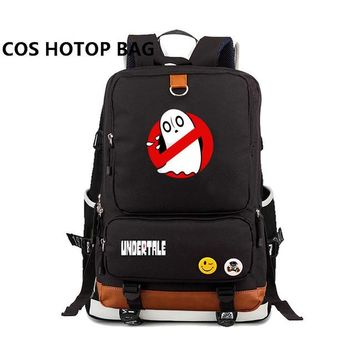 Anime Backpack School Game kawaii cute Undertale sans cospaly backpack for teenagers School Bags travel Casual Laptop Bags Rucksack 30 style AT_60_4