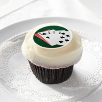 Poker Hands - Dead Man's Hand Edible Frosting Rounds