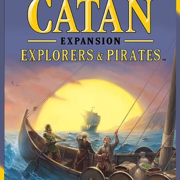 Settlers of Catan: Explorers and Pirates Expansion