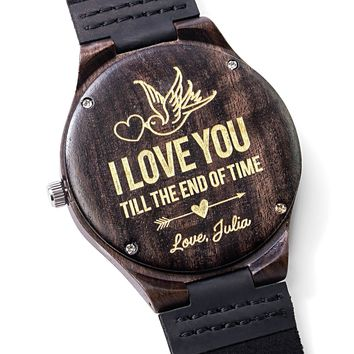 HUSBAND/BOYFRIEND - I love you till the end of time