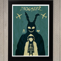 Donnie Darko Minimalist Poster, Movie Poster, Art Print