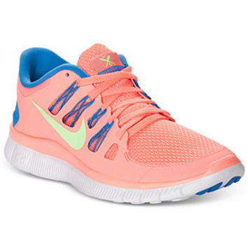 Nike Women's Shoes, Free 5.0+ Sneakers - Sneakers - Shoes - Macy's