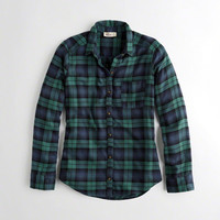 Girls Oversized Flannel Shirt | Girls New Arrivals | HollisterCo.com