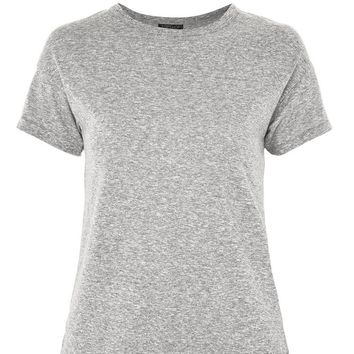 Marl Short Sleeve T-Shirt - T-Shirts - Clothing