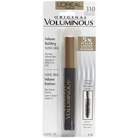 L'Oreal Voluminous Original Volume Building Mascara, Blackest Black