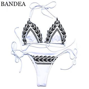 high neck women bikini set swimsuit bikini set print swimwear halter swimwear bathing suit