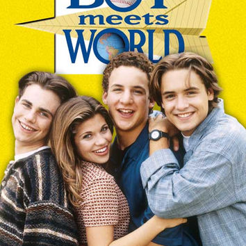 Boy Meets World 27x40 TV Poster (1993)