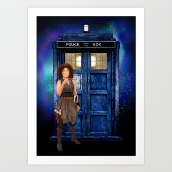 Mrs River Diary Doctor who iPhone, ipod, ipad, pillow case and tshirt Art Print by Three Second