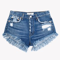 Destroyed High Rise Lilit Shorts