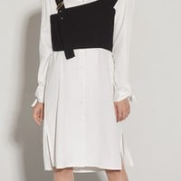 Rains Long Shirt Dress
