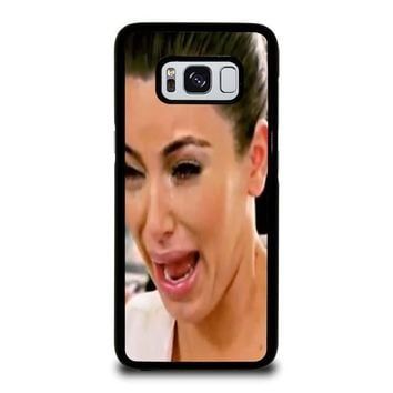KIM KARDASHIAN UGLY CRYING FACE Samsung Galaxy S3 S4 S5 S6 S7 Edge S8 Plus, Note 3 4 5 8 Case Cover