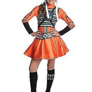X-Wing Fighter Tween Dress Costume