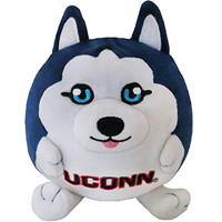 University of Connecticut Husky: An Adorable Fuzzy Plush to Snurfle and Squeeze!