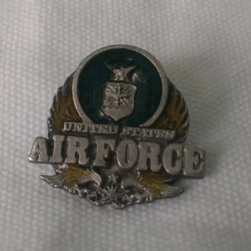 United States Air Force Pin Military Armed Forces Unisex Fashion Accessory Jewelry Tie Hat Coat Lapel Pin Made by Siskiyou Gifts Collectible