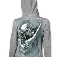"Women's ""Tango"" Zip-Up Hoodie by OG Abel (Grey)"