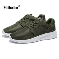 Viihahn 2017 New Fashion Casual Shoes for Men Spring And Summer Breathable Mesh Jogging Shoes Lightweight Lace Up Walking Shoes