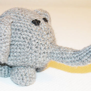 6in Elephant Stuffed Animal