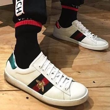Gucci Women Or Men Casual Sneakers Sport Shoes