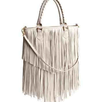 Handbag with Fringe - from H&M
