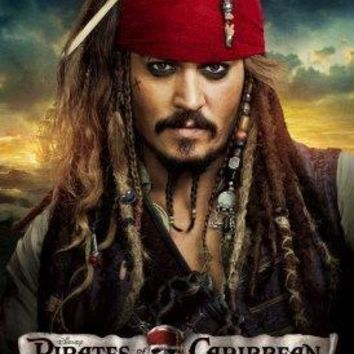 Pirates Of The Caribbean On Stranger Tides Metal Print 8in x 12in