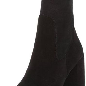 Chinese Laundry Women's Charisma Boot, Black Suede, 8 M US