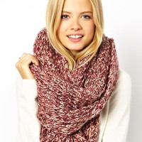 ASOS Multi Knit Snood - Pink
