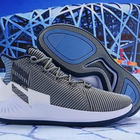Adidas D Rose 9 Gray/Navy Basketball Sneaker 40-46
