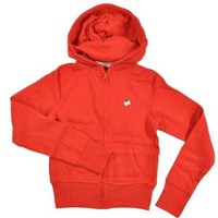 Oil & Vinny Big Girls Red Hoodie