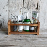 Medium Apothecary Caddy made of Reclaimed Cypress
