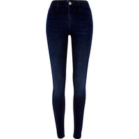 River Island Womens Dark wash Molly reform jeggings