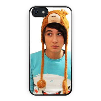 Dan Howell Youtuber Music iPhone 5/5S Case