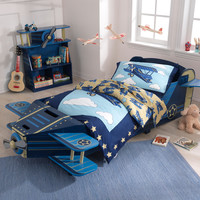 KidKraft Airplane Toddler Bed - 76269