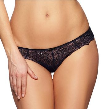 LACE BRAZILIAN PANTY GOSSARD GRAPHIC FLORAL GS11173