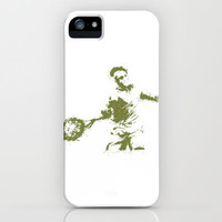Roger Federer Wimbledon Tennis iPhone & iPod Case by DanielBergerDesign
