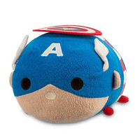 Disney Captain America Tsum Tsum Plush - Medium - 11