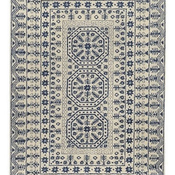 Simba Navy Blue Area Rug