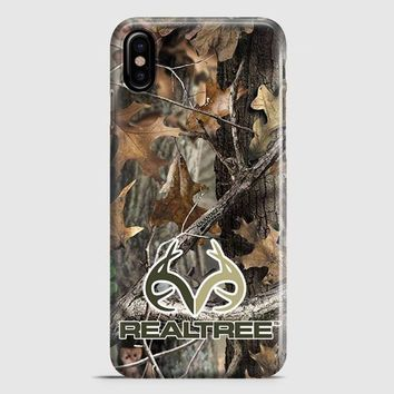 Realtree Ap Camo Hunting Outdoor iPhone X Case | casescraft